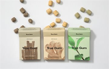 True Gum, Mint & Matcha, 1 pakke